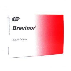 Brevinor (ethinylestradiol and norethisterone)