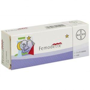 Femodette (ethinylestradiol and gestodene)