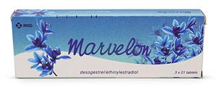 Marvelon (ethinylestradiol and desogestrel)