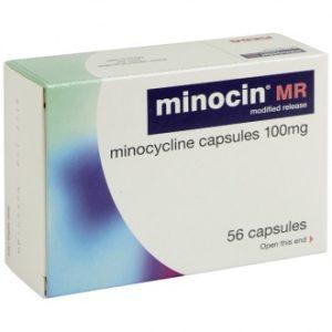 Minocin Capsules