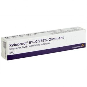 Xyloproct ointment