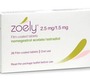 Zoely (estradiol hemihydrate and nomegestrol acetate)